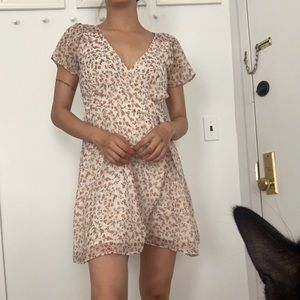 Abercrombie Flared Mini Dress